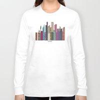 sydney Long Sleeve T-shirts featuring Sydney skyline by bri.b
