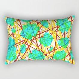 Neuronic Rectangular Pillow