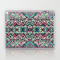 Pink Turquoise Girly Aztec Andes Tribal Pattern by railtonroad
