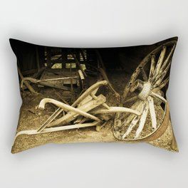 Old farm Rectangular Pillow