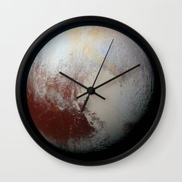 Pluto on July 14, 2015 Wall Clock