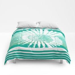 Nautilus Decor Mixed Media Piece Comforters