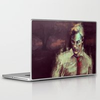 true detective Laptop & iPad Skins featuring True Detective by nlmda