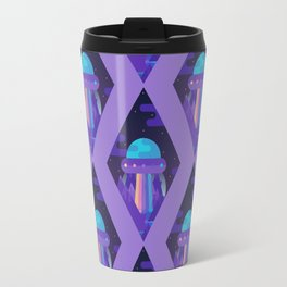 ROYGBIV Flying-Saucer Travel Mug