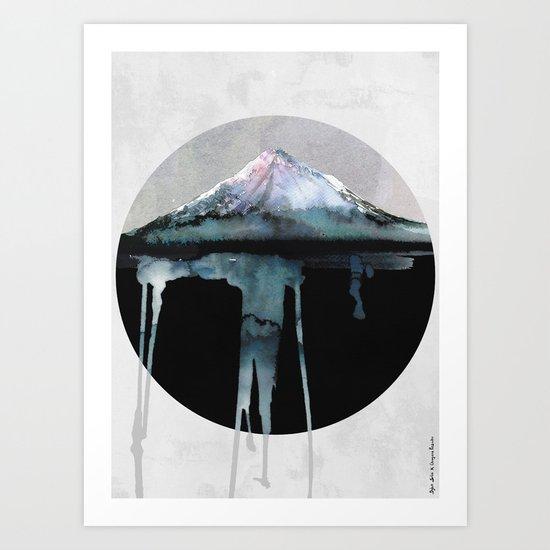 The Island   by Dylan Silva & Georgiana Paraschiv Art Print