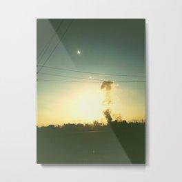 Smoke stacks Metal Print