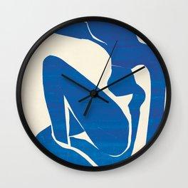 Blue Nude #1- Henri Matisse Wall Clock