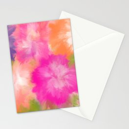 Flowers from my garden Stationery Cards