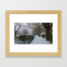 On a Winter's Day Framed Art Print