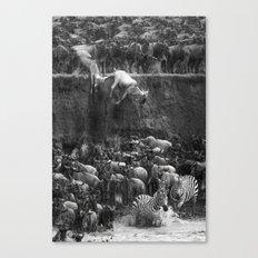 Serengeti Canvas Print