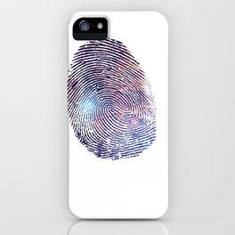 COSMIC TRACE iPhone Case