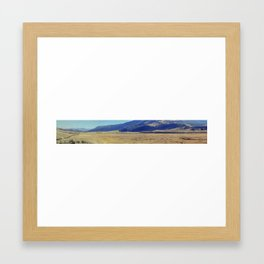 Lamar Valley in Fall, Yellowstone National Park Framed Art Print
