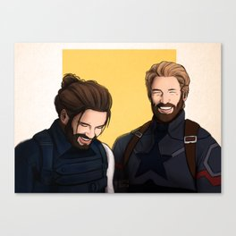 Bearded Duo Canvas Print
