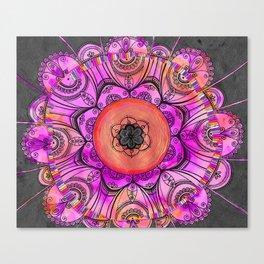 Mandala Art PAINTING, Original Mandala drawing design Canvas Print