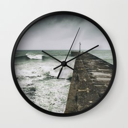 Caught in a Storm II Wall Clock