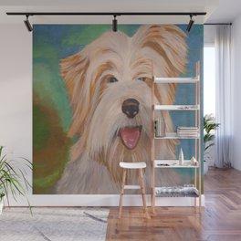 Terrier Portrait Wall Mural