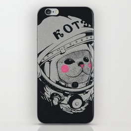Spaceman cat iPhone Skin