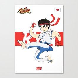 RYU - STREET FIGHTER Canvas Print