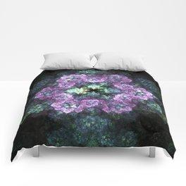Electric Snowflake Comforters