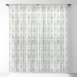 New Hampshire (Rustic) Sheer Curtain