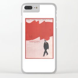 Russia, URSS Vintage (12) Clear iPhone Case