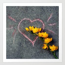 Sunshine Of Your Love Art Print