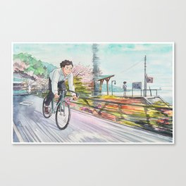 Bicycle Boy 04 Canvas Print