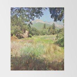 Santa Barbara Summer Throw Blanket