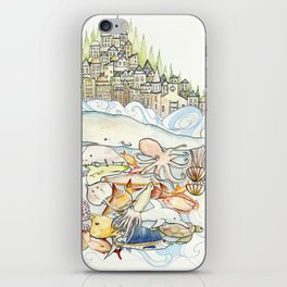 Life Above, Life Below iPhone Skin