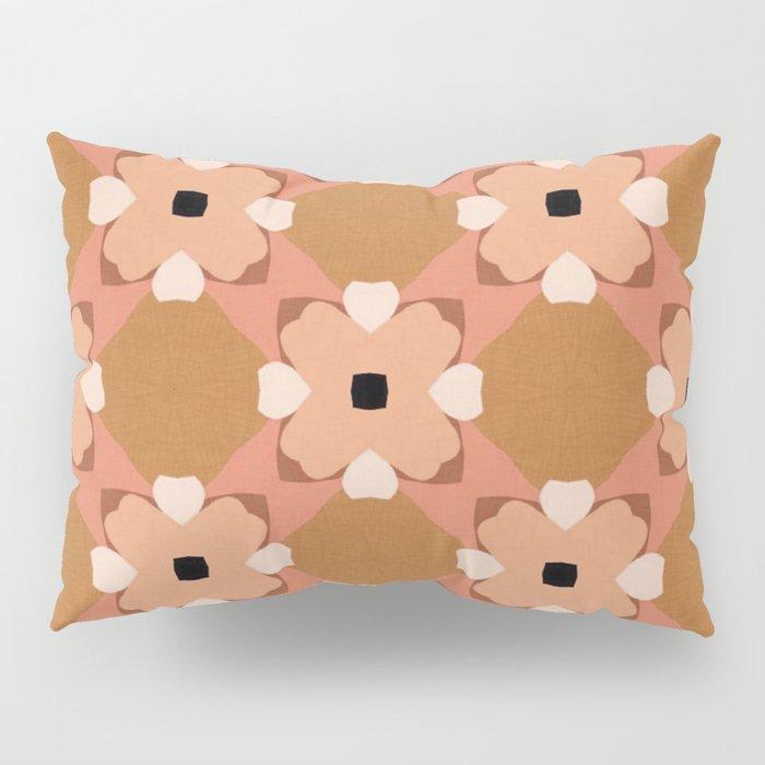 Moroccan floral rattan Pillow Sham