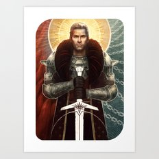 Cullen Card Art Print