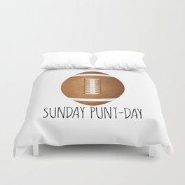 Sunday Punt-day Duvet Cover