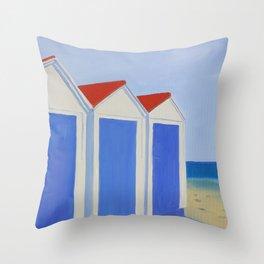 Summer Shacks #4 Throw Pillow