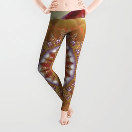 Mandalas from the Heart of Peace 12 Leggings