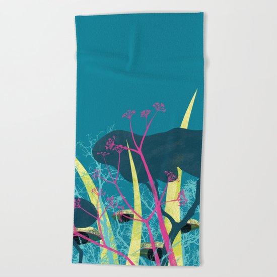 la foresta di circe Beach Towel