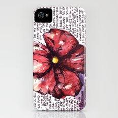 Juno Flower iPhone (4, 4s) Slim Case