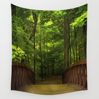 destiny Wall Tapestries featuring Destiny Calls by Elke Meister