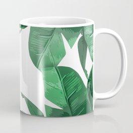 Tropical Palm Print Coffee Mug