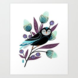 Branch and Bloom Art Print