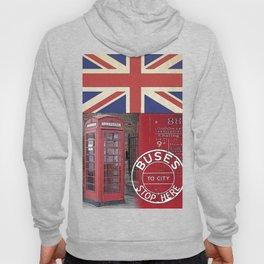 Great Britain London Union Jack England Hoody