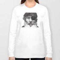 jack nicholson Long Sleeve T-shirts featuring Jack by Rik Reimert