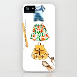 Summer Adventures iPhone Case