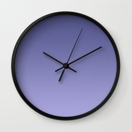 Moody Purple Colour Wall Clock