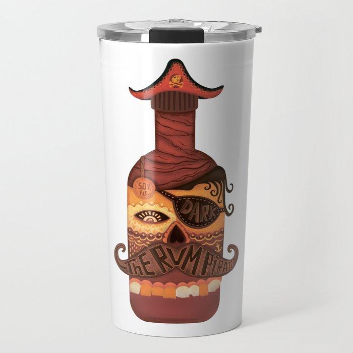 The Rum Pirate Travel Mug