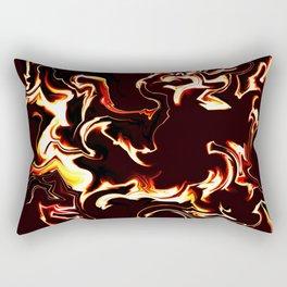 Burn baby burn Rectangular Pillow