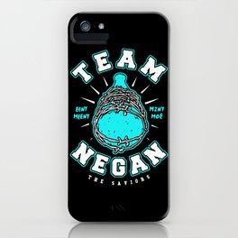 Team Negan Blue iPhone Case
