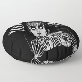 She's Filled with Secrets - Laura Palmer - Twin Peaks Floor Pillow