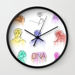 BTS- DNA Wall Clock
