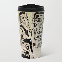 Banksy, Greatness Travel Mug
