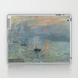 Claude Monet's Impression, Soleil Levant Laptop & iPad Skin
